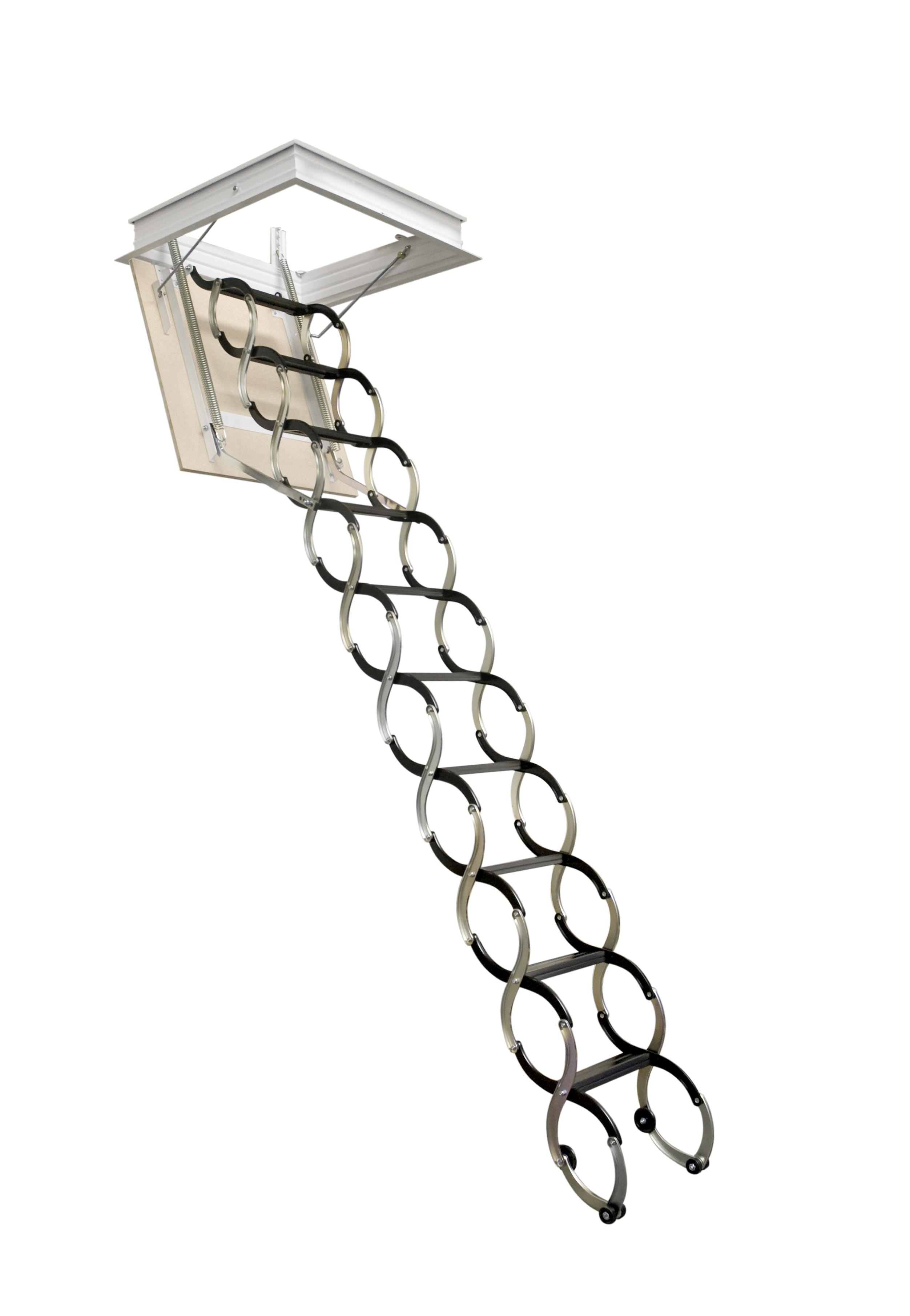 Pudni stahovaci schody LUSSO foto zdroj JAP FUTURE