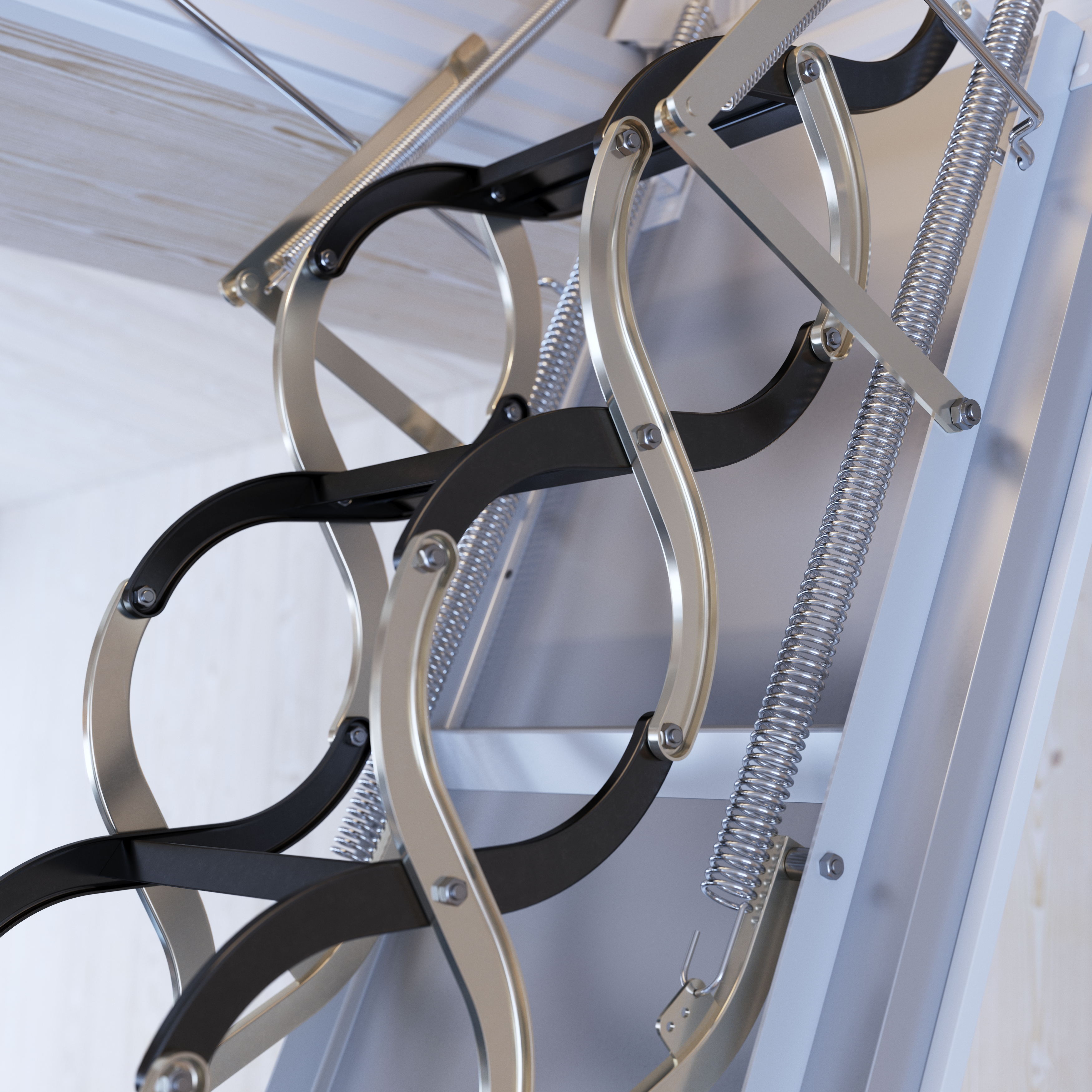 stahovaci schody LUSSO PP detail foto zdroj JAP FUTURE